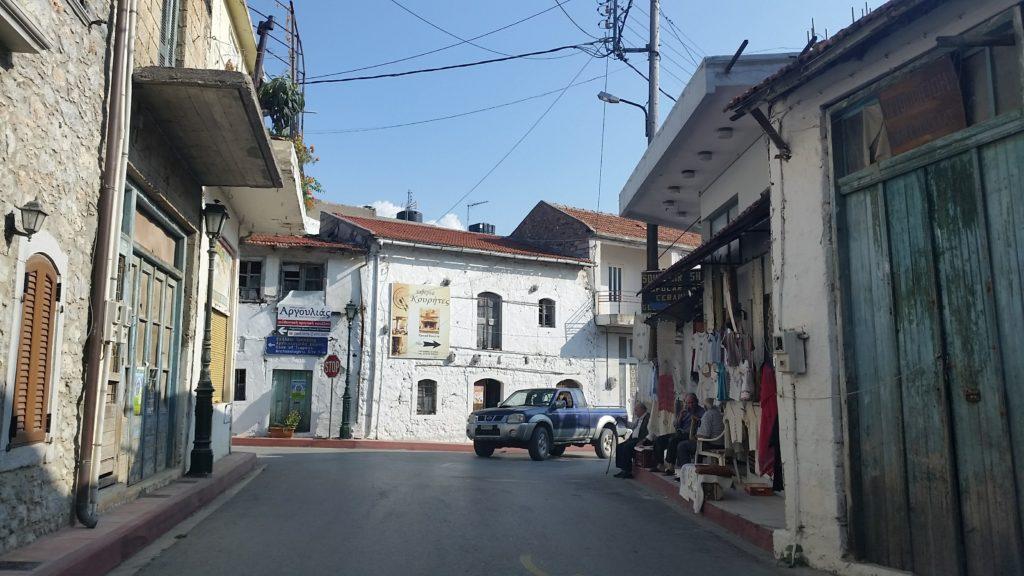Tsermiado, Straßenbild