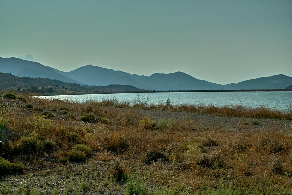 Wasserreservoir auf der Lassithi-Hochebene