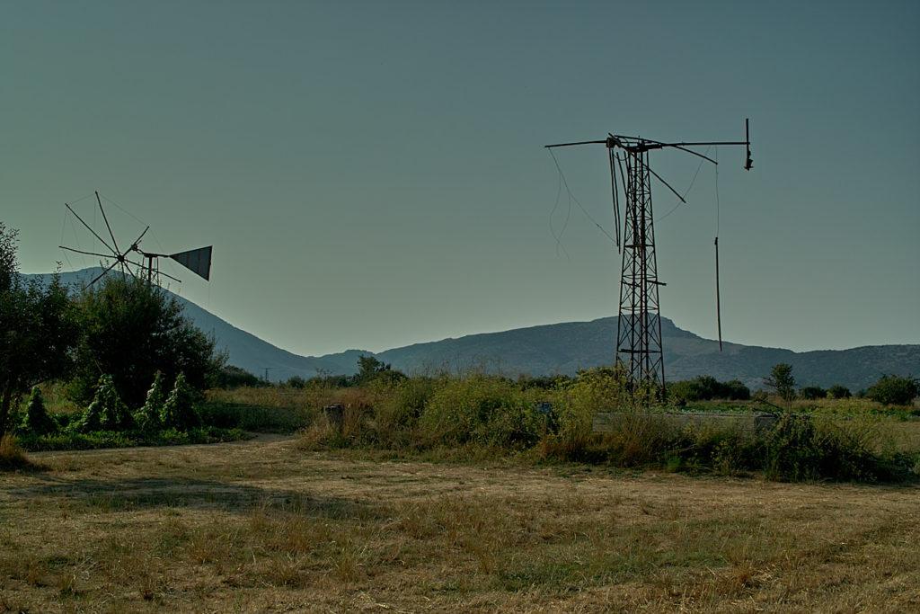 Windmühlenruinen bei Magoula