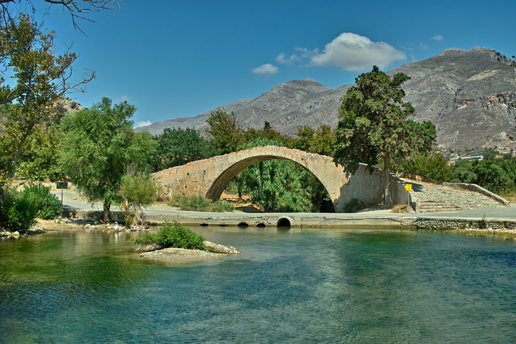 """Venetianische Brücke"" unterhalb von kato manastiri prevelis"