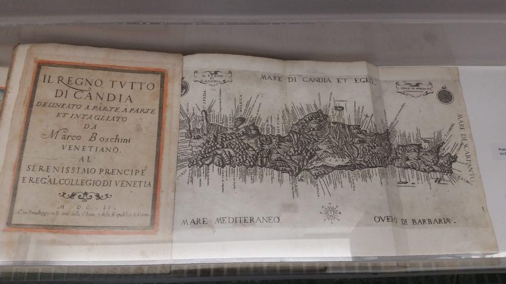 venezianisches Kartenwerk zu Candia. Historisches Museum Iraklio