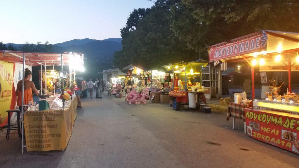 Panijiri (Jahrmarkt) in Aghi