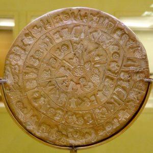 Diskos von Phaistos: bronzezeitliche Sensation oder Fälsch aus dem letzten Jahrhundert?