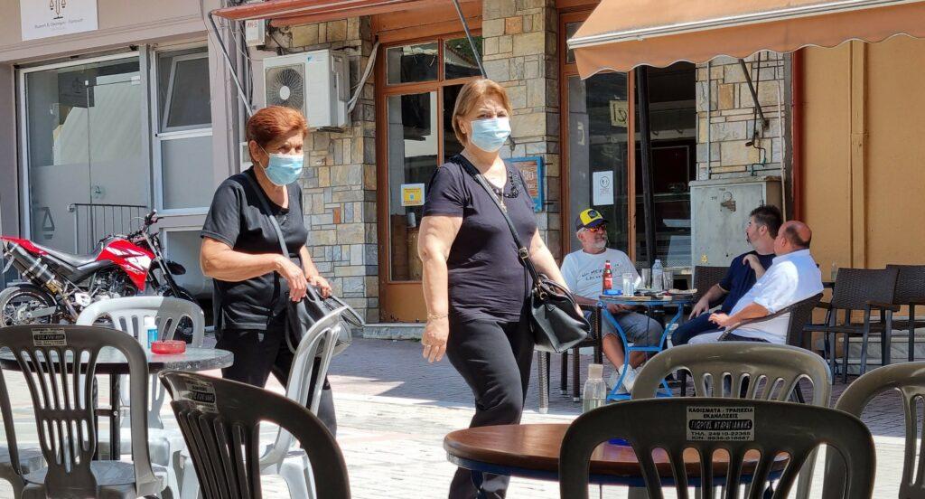 Masken werden oft auch freiwillig getragen