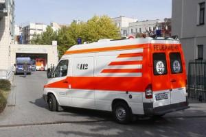 Krankenwagen Elisabethkrankenhaus