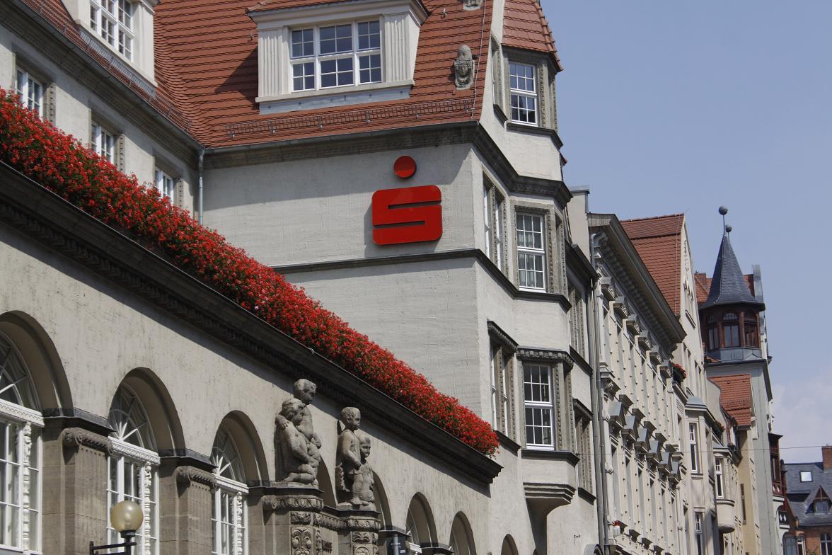 Saalesparkasse in Halle