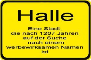 Halle_Ortsschild