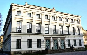 Löwengebäude der Martin-Luther-Universität in Halle