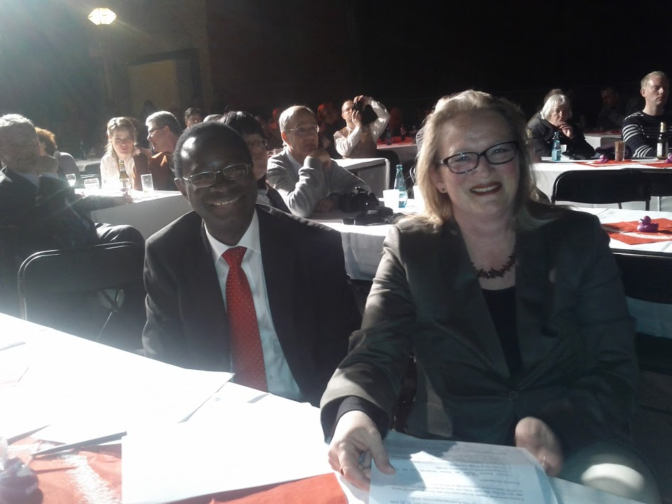 Karamba Diaby und Kathrin Budde