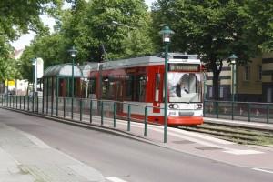 Straßenbahn Grünes Feld