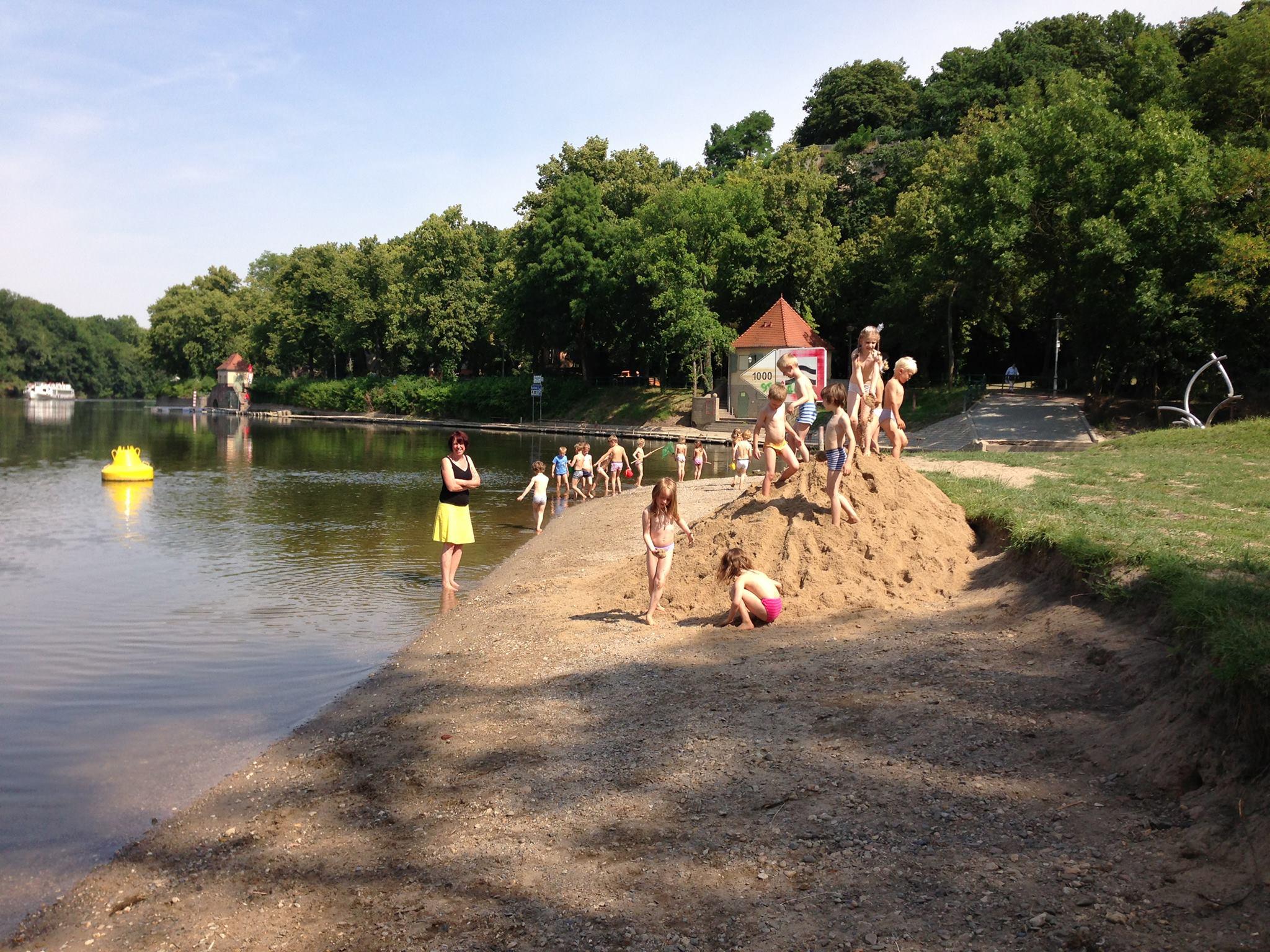 Saalestrand Sand