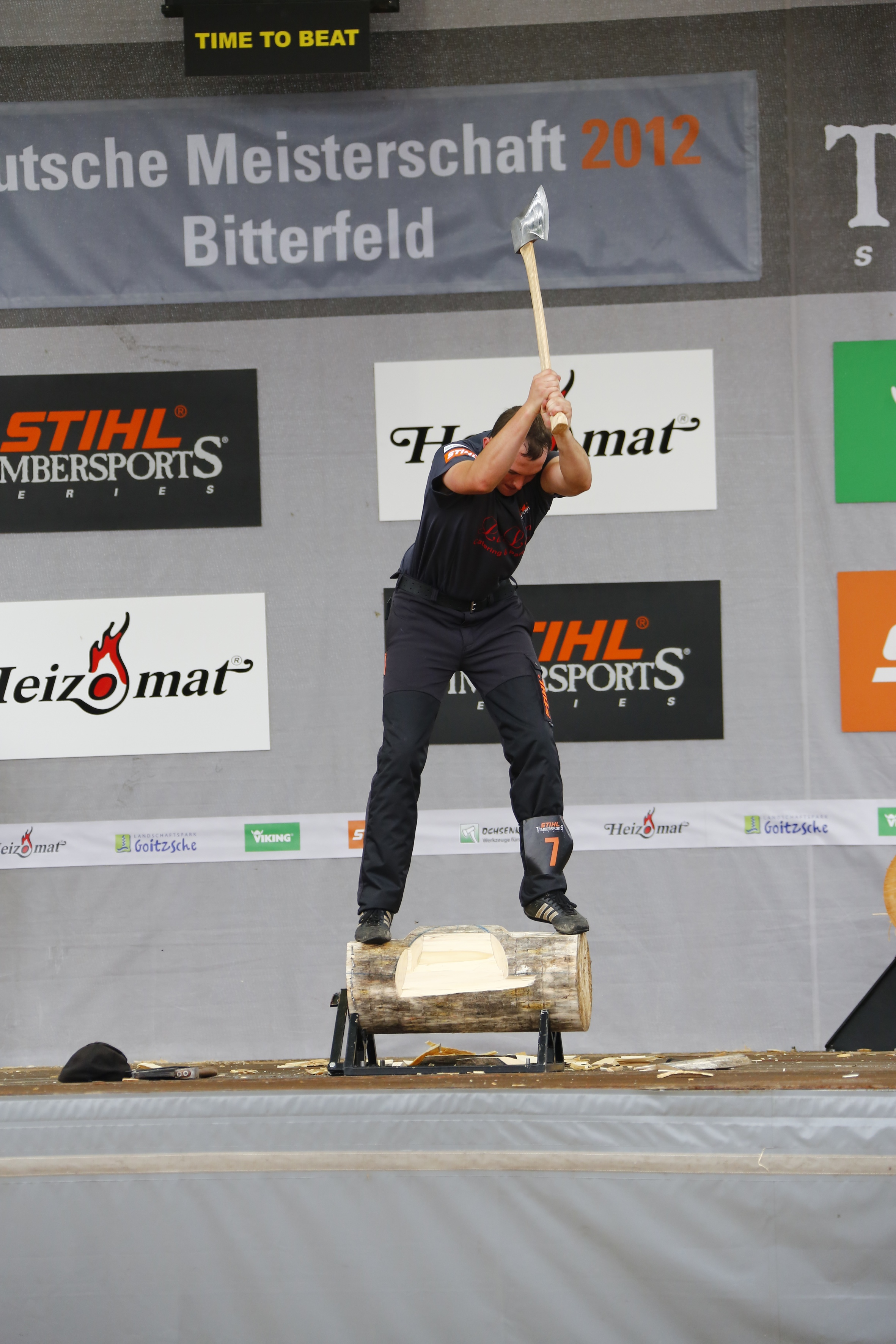 Stihl Timbersports German Championships 2012