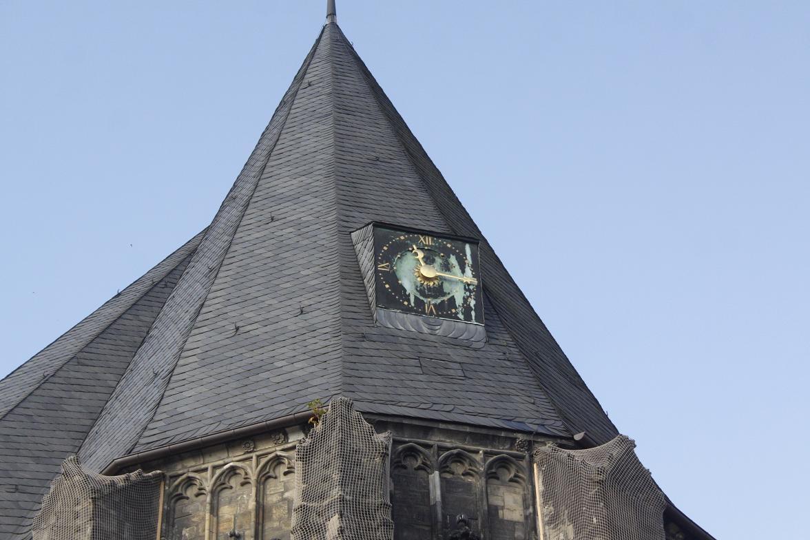 Uhr Moritzkirche