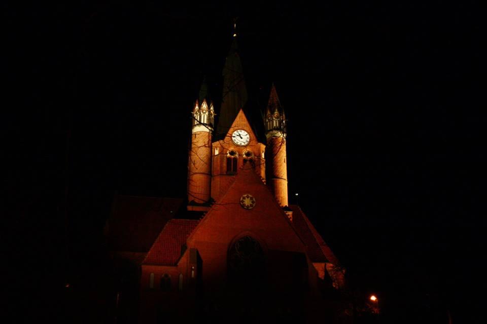 Pauluskirche Freitagabend