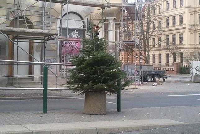 Weihnachtsbaum entsorgen halle saale 2018