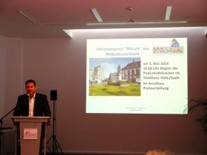 Start zum 2. Inklusionsprei aus Mitteldeutschland 2014