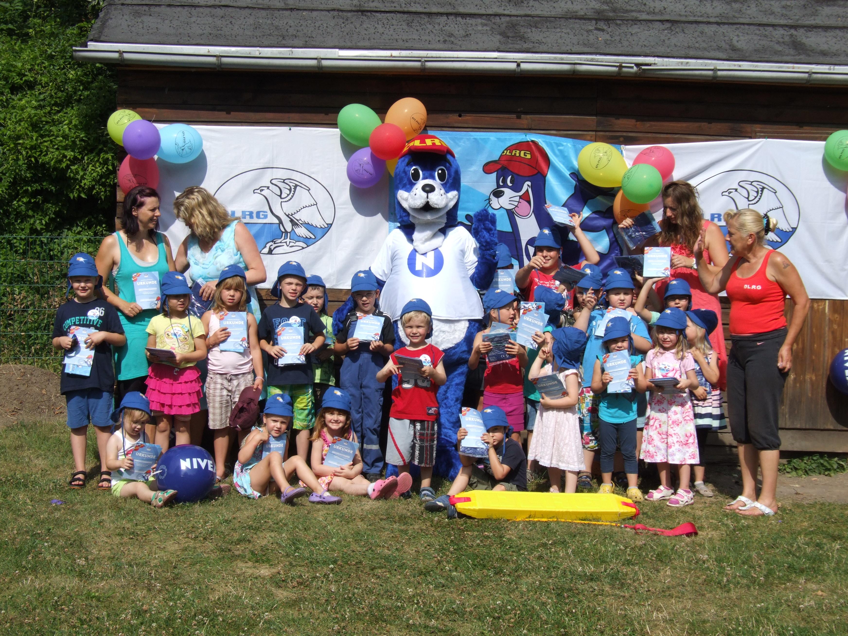 DLRG Kindergartenprojekt