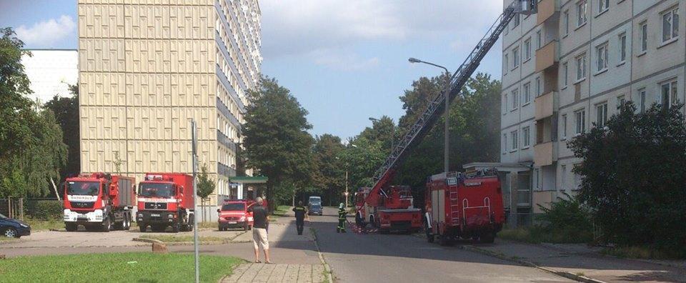 Feuerwehrübung Neustadt