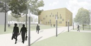 (Entwurf: Eßmann/Gärtner/Nieper Architekten GbR)