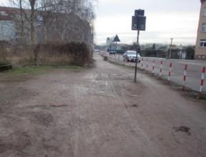 Fußweg Turmstraße