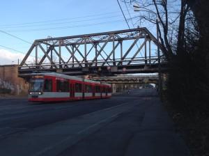 Halle-Rosengarten - Teilneubau Bahnsteig 1 bis Ende 2016: