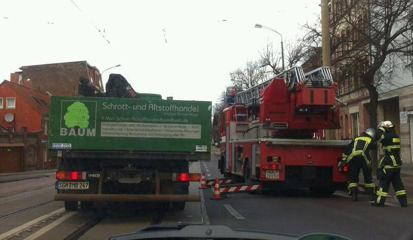 Feuerwehr Merseburger Straße
