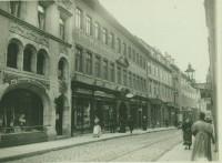 Geschäftshaus Tausch & Grosse um1910 Gr. Steinstraße