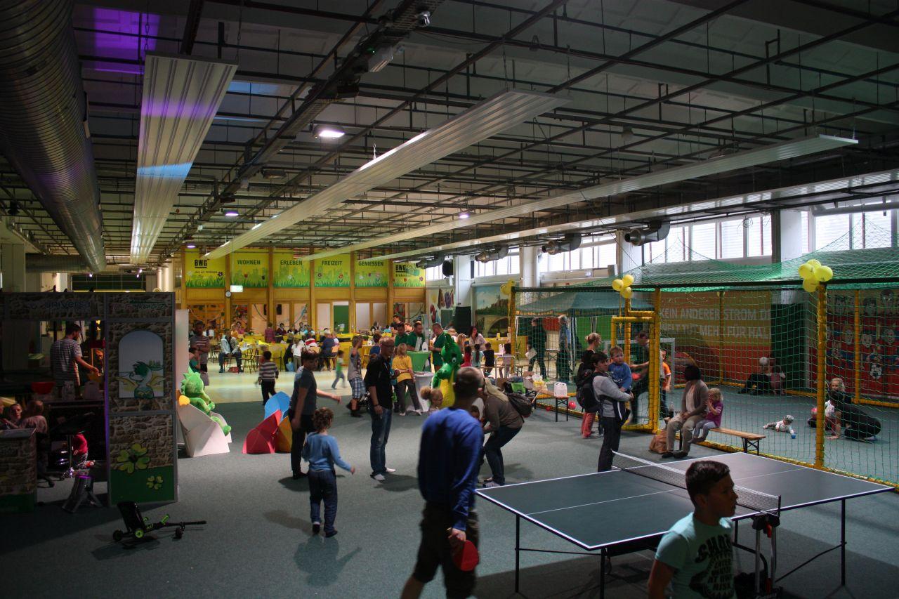 Kindertag im BWG Erlebnishaus HalleSpektrum