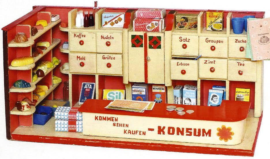 """""""spielzeug kaufläden der er und jahre"""" im museum"""