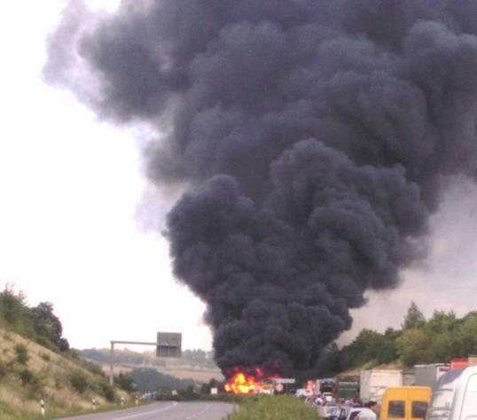 Katastrophe Auf Der Autobahn 14 Vollsperrung Stau Auf Umleitung