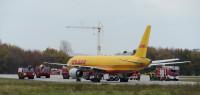 Übung (2) am Flughafen Leipzig Halle