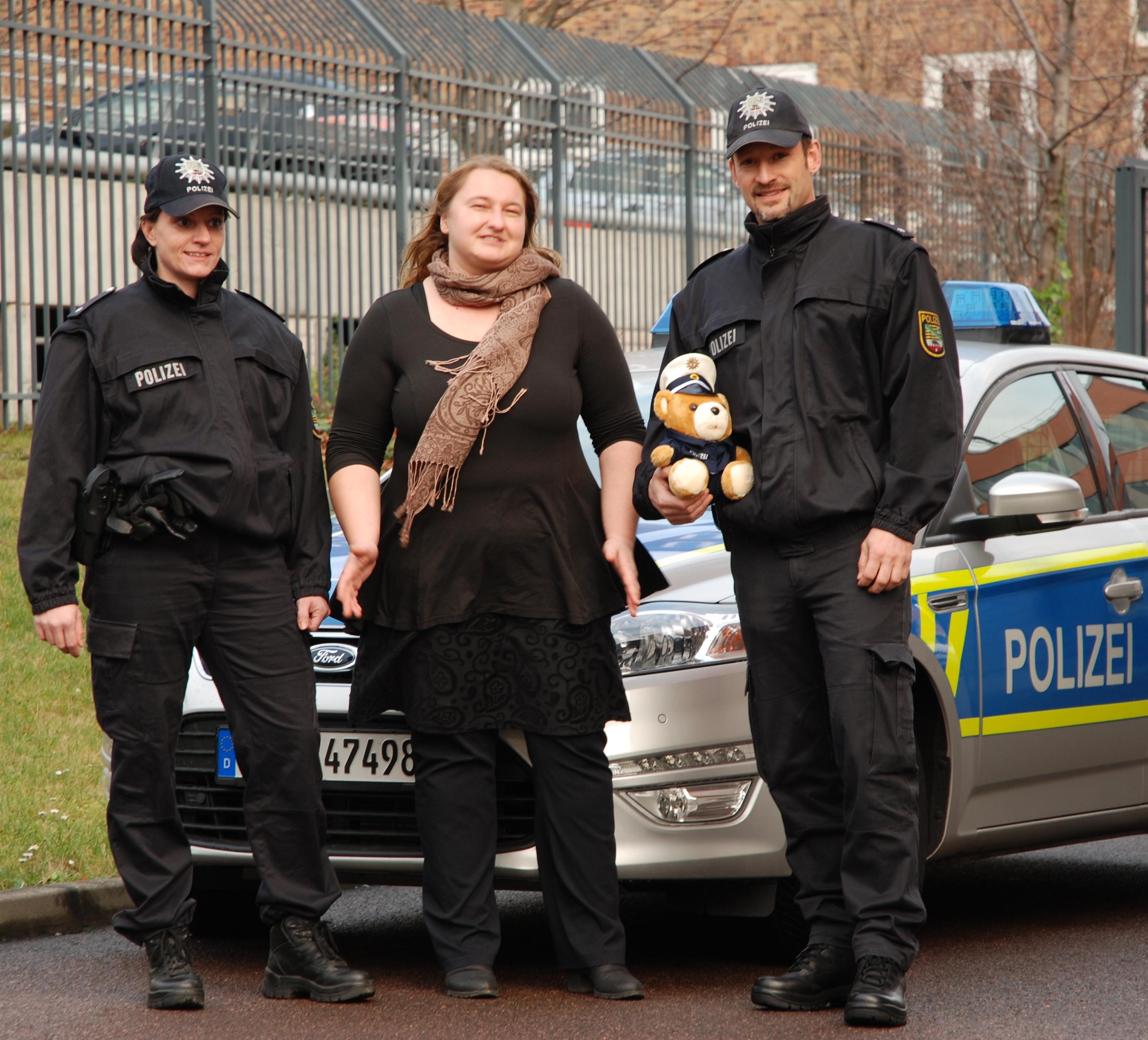 Polizei Plüschteddys Ab Sofort Wieder Erhältlich Hallespektrumde