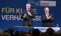 Horst Seehofer (links), Rainer Haseloff (rechts)