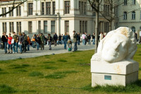 Blick auf den Universitätsplatz. Foto: Norbert Kaltwaßer
