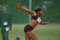 Die Weltmeisterin aus Kuba, Denia Caballero. Foto: HALPLUS