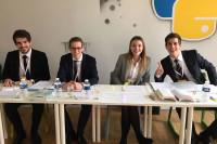 Studierende des Juristischen Bereichs der Universität Halle haben das Ticket zum Weltfinale gelöst. Foto: Uni Halle