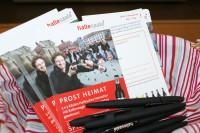 "Gewinnspielkarten ""Prost Heimat"". Foto: Stadtmarketing Halle (Saale) GmbH"