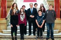 Besuch in der Staatskanzlei und dortiges Treffen mit dem Ministerpräsidenten Dr. Reiner Haseloff. Foto: CDU-Fraktion im Landtag von Sachsen-Anhalt