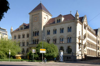 Firmensitz der Halleschen Wohnungsgesellschaft mbH. Foto: HWG