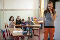 In der Theaterwerkstatt von Kaltstart e.V. erfanden und erspielten die Kinder kurze Szenen und Geschichten. Foto: Dirk Höke