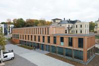 Die Mediathek auf dem Campus Design. Foto: Sascha Linke