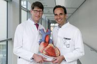 Prof. Dr. Stefan Frantz und Prof. Dr. Hendrik Treede. Foto: UKL Halle
