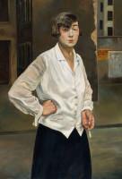 Rudolf Schlichter, Margot, Öl auf Leinwand, 1924. Foto: Stiftung Stadtmuseum Berlin