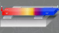 Durch Temperaturunterschiede können die magnetischen Eigenschaften des Materials verändert werden. Foto: Jamal Berakdar