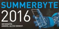 Summerbyte 2016. Foto: Institut für Informatik