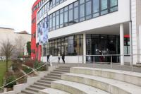 Ab 9. Mai 2016 erreichen Besucher die IHK vornehmlich über den Eingang ihres ServiceCenters an der Leipziger Straße. Foto: IHK