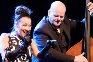 Die kanadische Jazzsängerin Holly Cole. Foto: Rüdiger Schestag