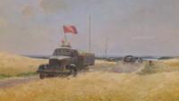 "Victor Karrus, ""Grain for the State"", KUMU Tallinn, 1954"
