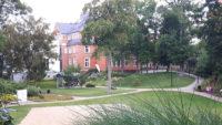 Haus und Park auf der Saline dienen der Gesundheit