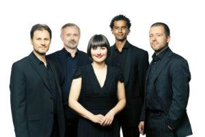 """Das """"Lia Roth Quartett"""" spielt im Hof des Händelhauses"""